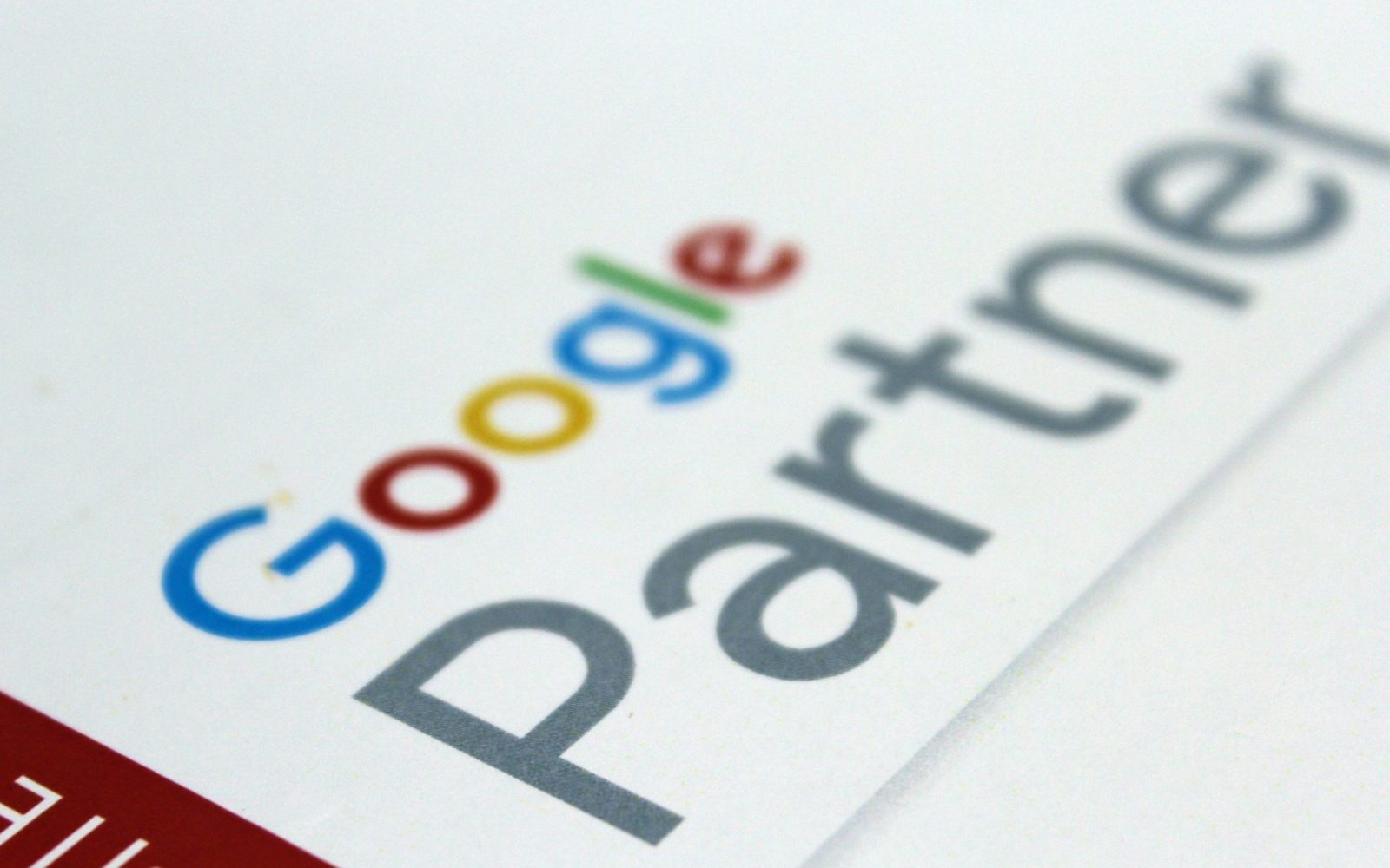 google partner label